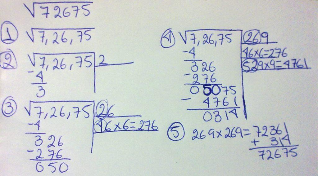 Aprende a resolver raices cuadradas