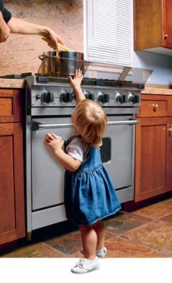 Cocina segura para niños