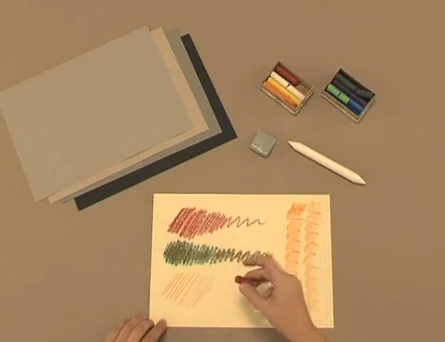 Aprender a pintar con pastel