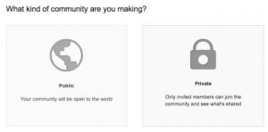 google plus privacidad o publica