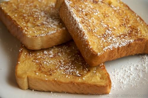 Aprender a hacer tostadas francesas