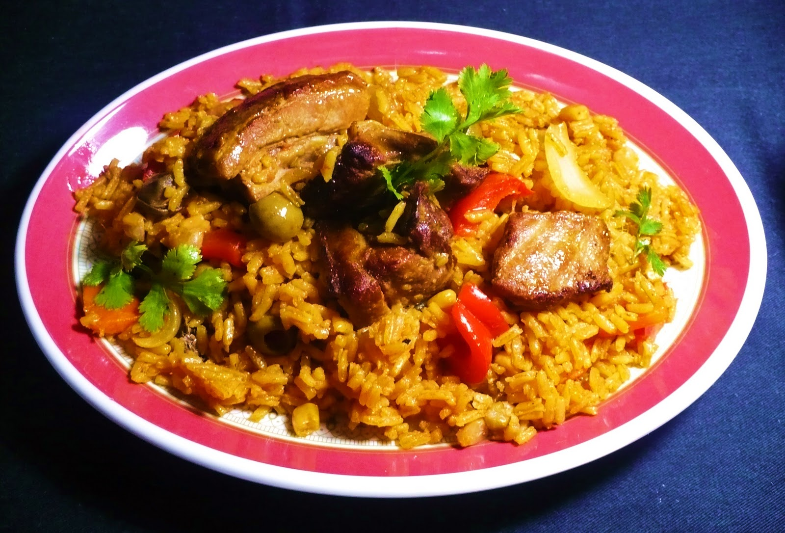 Arroz con costillas de cerdo01