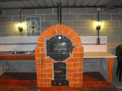 Aprende a hacer un horno con un barril - Chimeneas grandes dimensiones ...