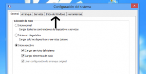 Inicio de Windows
