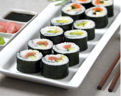 como preparar Maki Sushi Casero