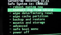Como cambiar la ROM de tu android