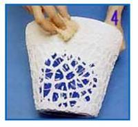 Pasar esponja en el Mosaico