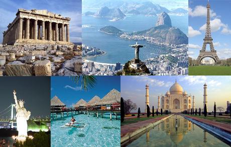 Lugares para viajar