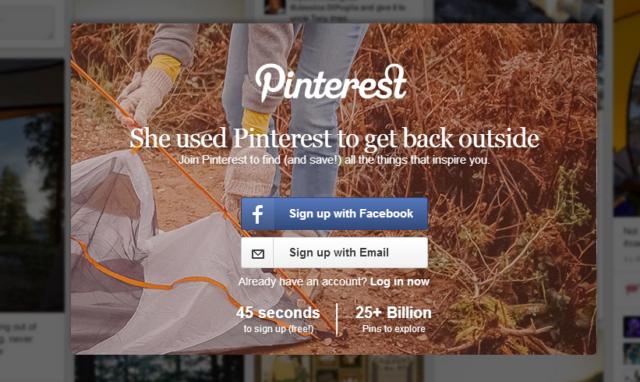 Como subir una foto en Pinterest