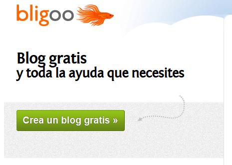 crear blog con Bligoo