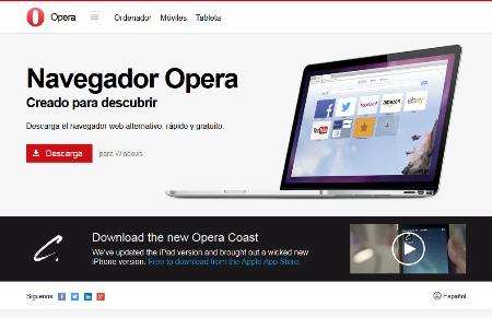 Como instalar Opera en PC