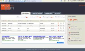 Aprender a administrar tus gastos online con Gastosmini
