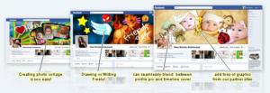 Como crear tus potadas de Facebook online