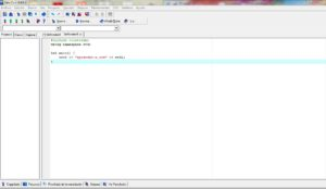 Ejecutar programa en C++