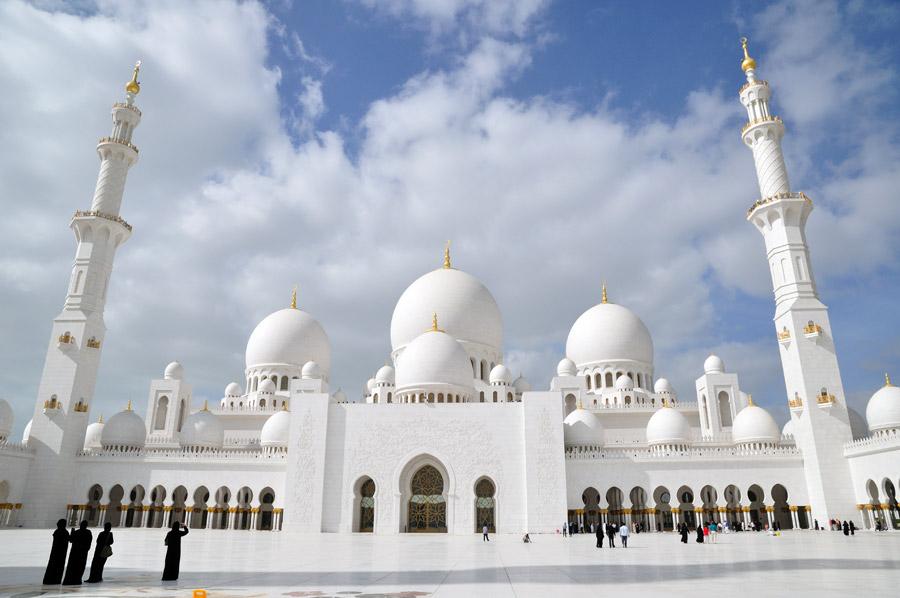 Gran mezquita Dubai