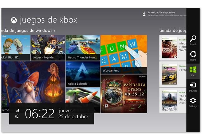windows8 store y tienda aplicaciones