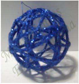 Como se hacen esferas de hilo