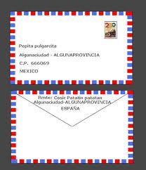 Carta en Espña